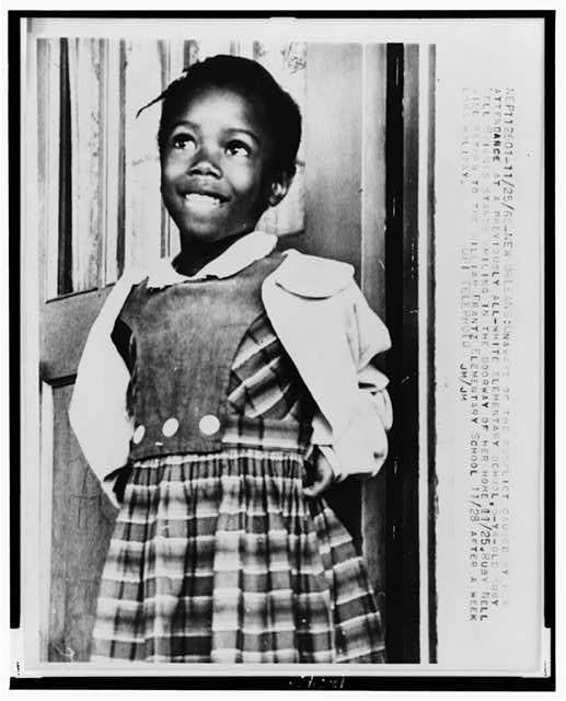 Jensenus2 Ruby Bridges An End To Segregrated School